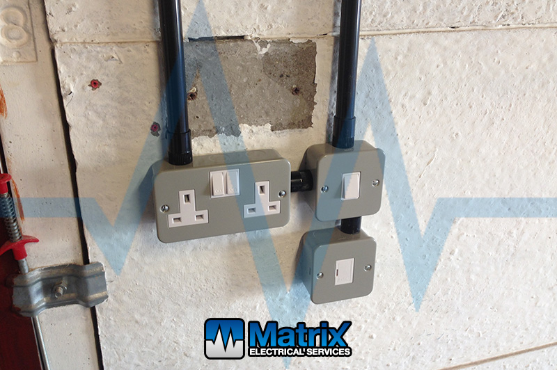Garage Electrical Upgrade Matrix Electrical Services
